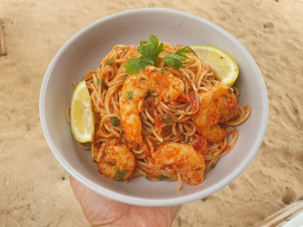 JBR Shrimp Pasta