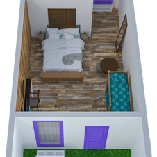 Cabin (7-9) Aerial Plan