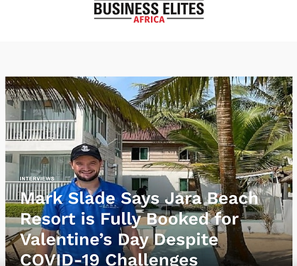 Business Elites Africa Jara Beach Resort