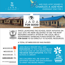Jara for Good - August 2021 Raffle