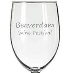 BD WINE FEST glass