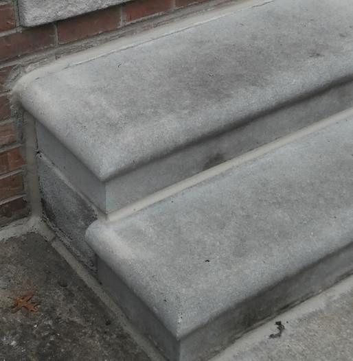 Sealing of Concrete Steps