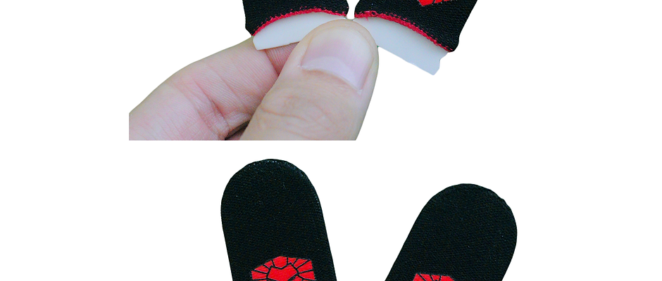 2 x SOLTI HQ Finger Sleeves