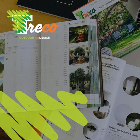 TRECO Jardinerie à Domicile | Catalogues Professionnels