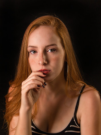 Young woman confident