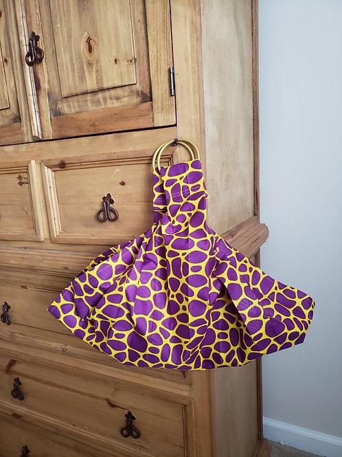 Purple Giraffe Infant Scale Sling