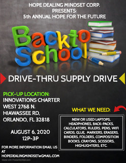 5th Annual Back to School Supply