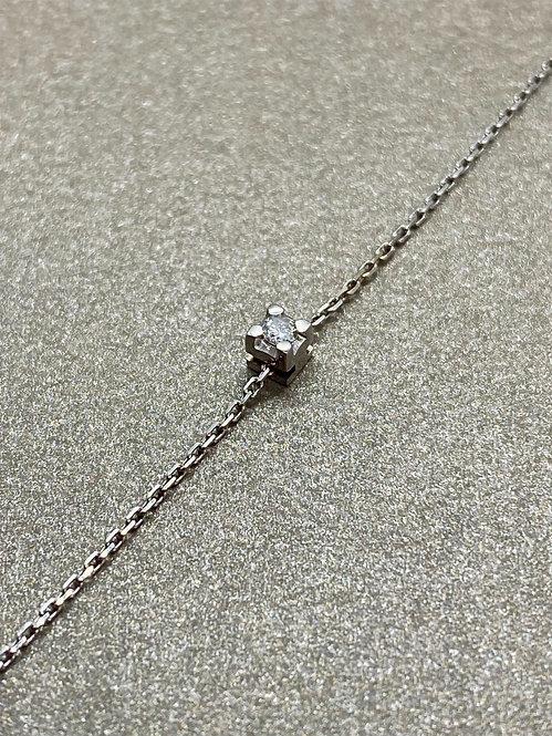 Bracelet en or et diamant mobile