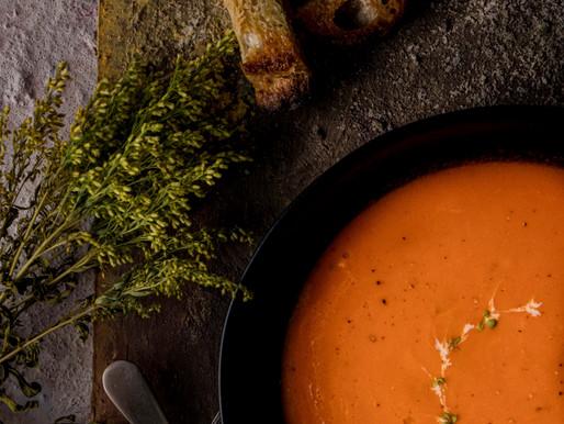 Silky Smooth Tomato Soup