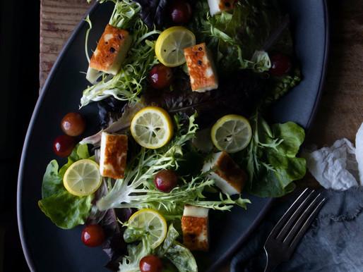 Halloumi Winter Salad