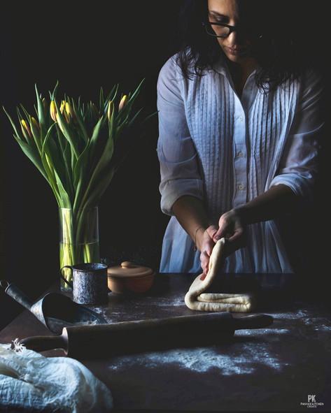 Process of Making Lavash