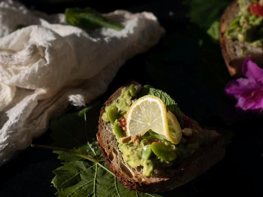 Spring Avocado Toast