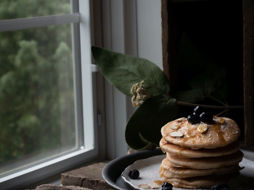 Vegan Sourdough Pancakes