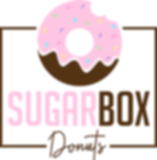 Sugar Box Donuts edit pink with white ba