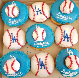 Are you ready for the game_ #gododgers ⚾⚾⚾_#dodgerdonuts #mlb