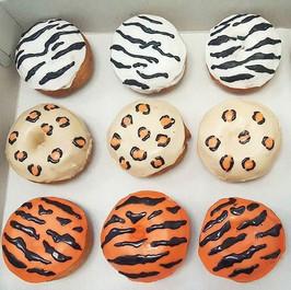 Let's go on a donut safari!! 🐯🦁🐅 🐆  #animaldonuts