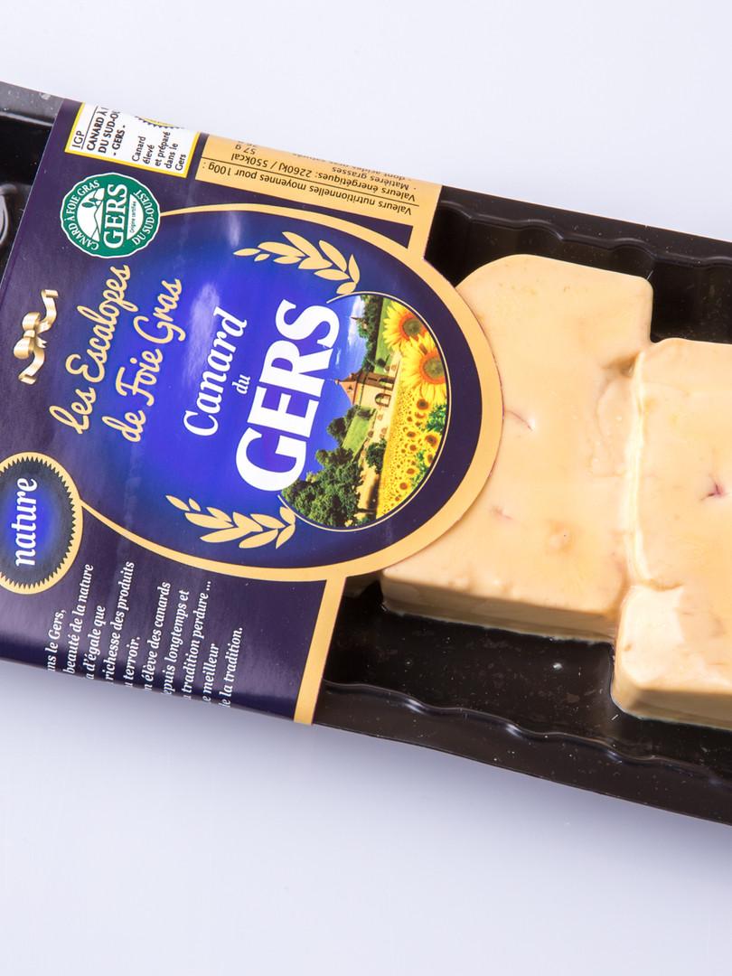 Escalope de foie gras canard du gers