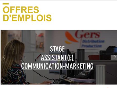 STAGE - Assistant(e) communication et marketing