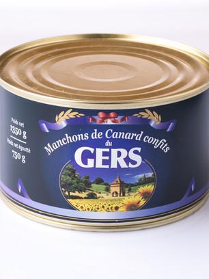 Manchons de Canard confits Canard du gers