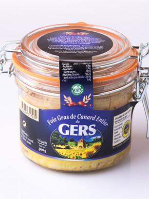 Foie gras de canard Canard du Gers