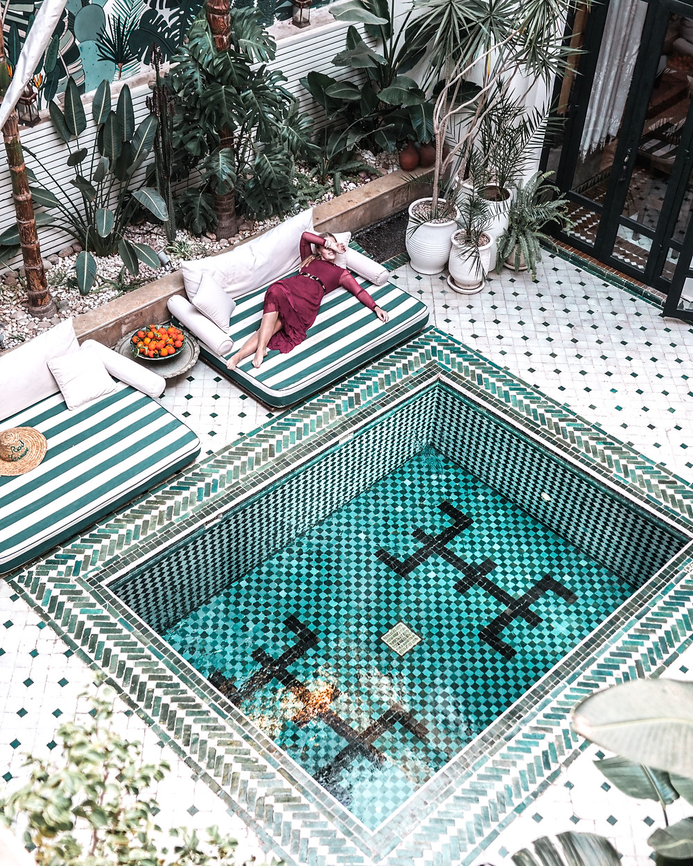 best place to stay in Marrakech: Riad Yasmine