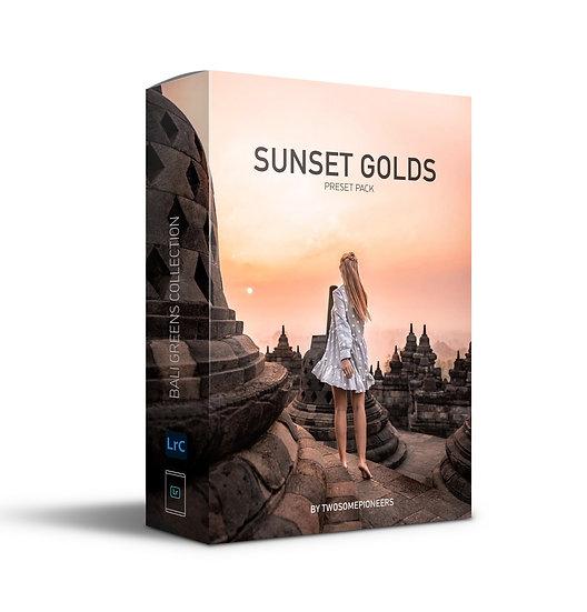 SUNSET GOLDS Preset Pack