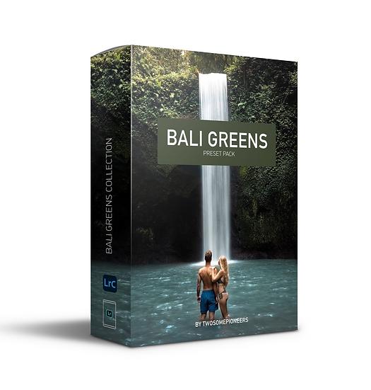 BALI GREENS Preset Pack