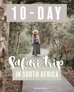 SOUTH AFRICA SAFARI TRAVEL GUIDE