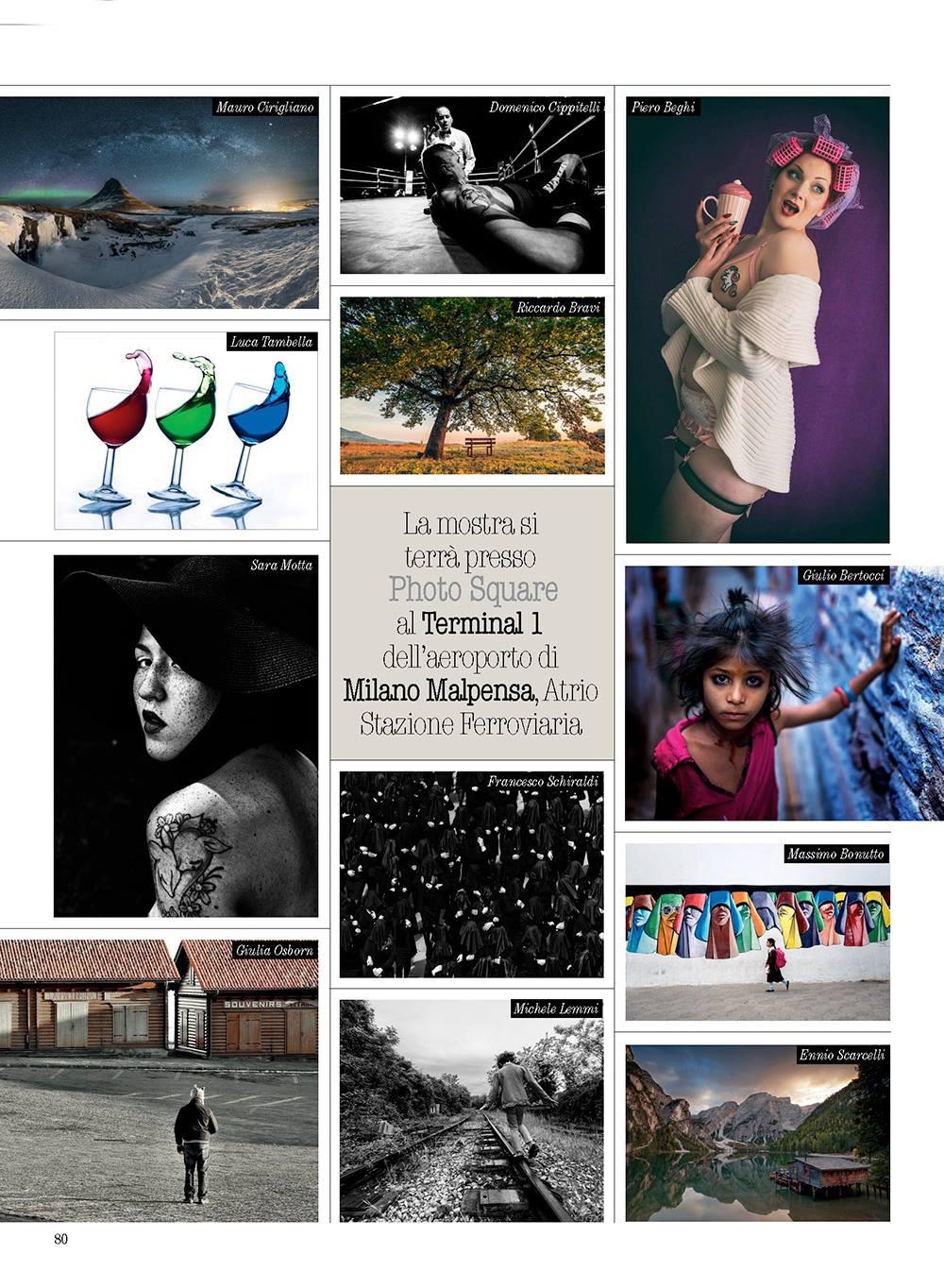 """Photo Challenge 2018 - La foto """"movimenti RGB"""" prossimamente in mostra al Photo Square, uno spazio espositivo all'interno dell'aeroporto internazionale di Milano Malpensa"""