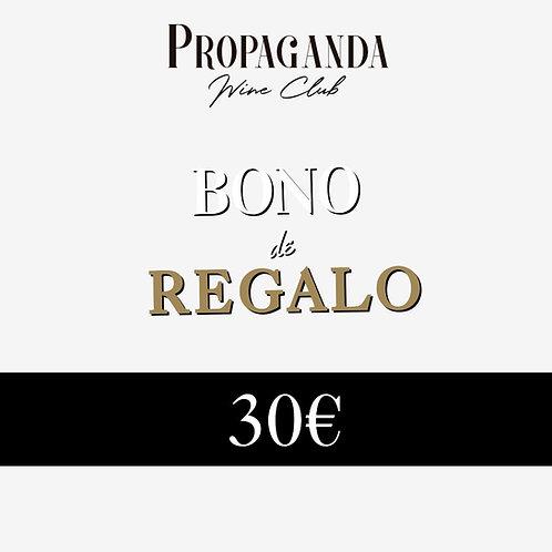 Bono Regalo 30€