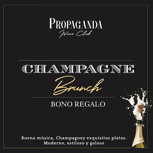 Bono Regalo Champagne Brunch
