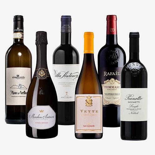 Wine Pack Italia de Norte a Sur