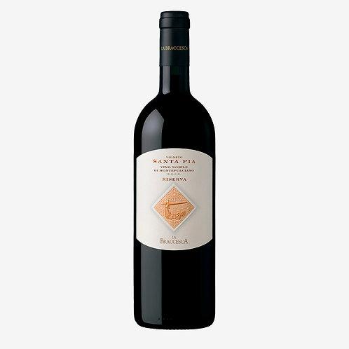 La Braccesca Vino Nobile di Montepulciano Santa Pia Riserva 2016