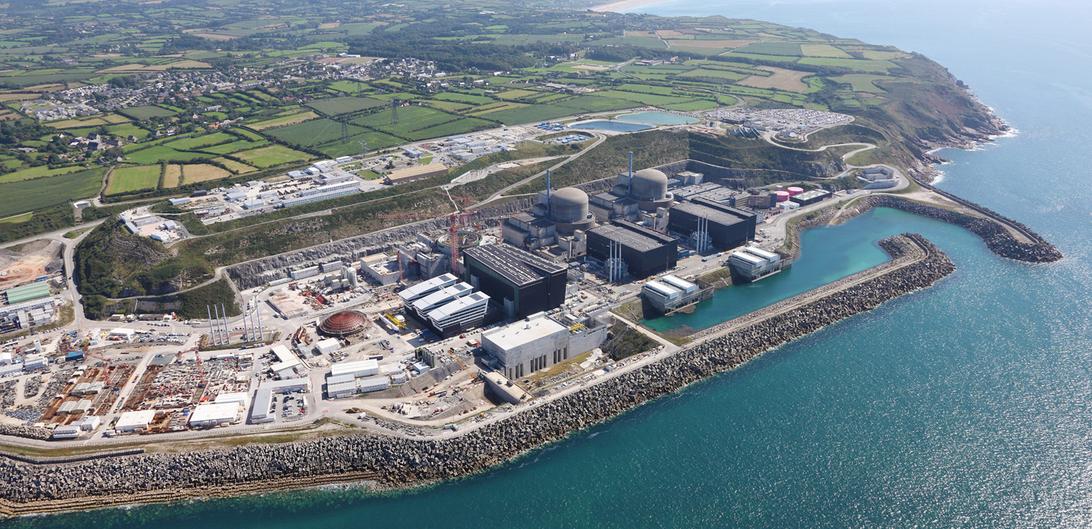 Areva Nuclear Power Plant