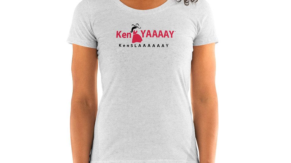 Ladies' short sleeve t-shirt - KenYAAAAY KenSLAAAAAAY