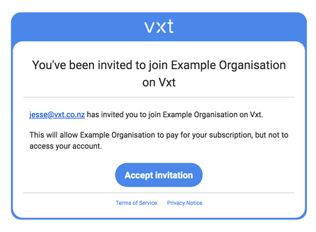How to set up a Vxt Account for Your Whole Team