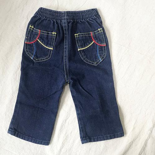 Color Stripe Jeans
