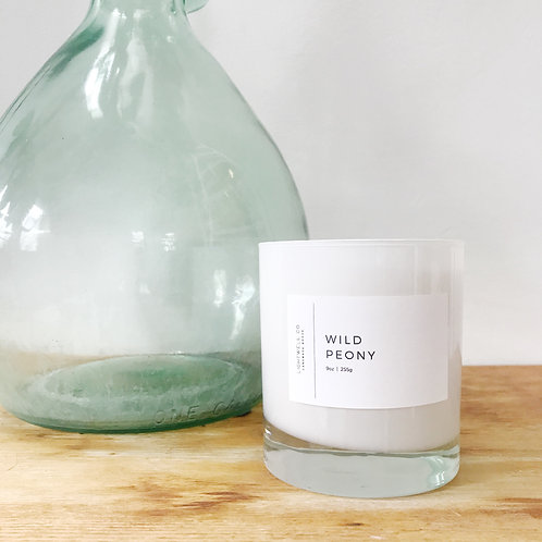 Wild Peony Candle