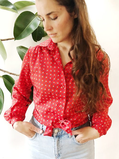 Sailboat Blouse