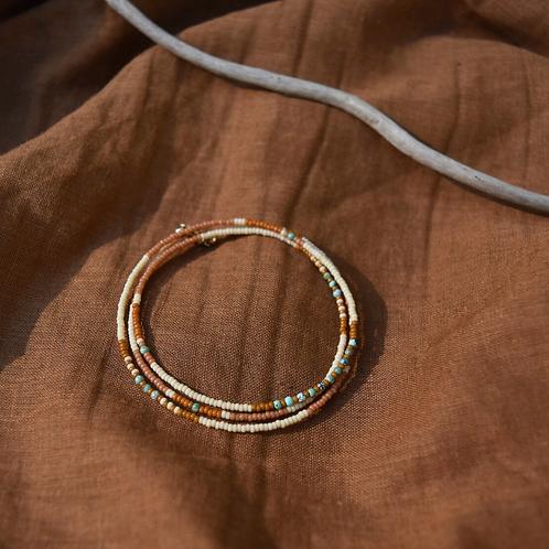 Wrap Bracelet in Earth