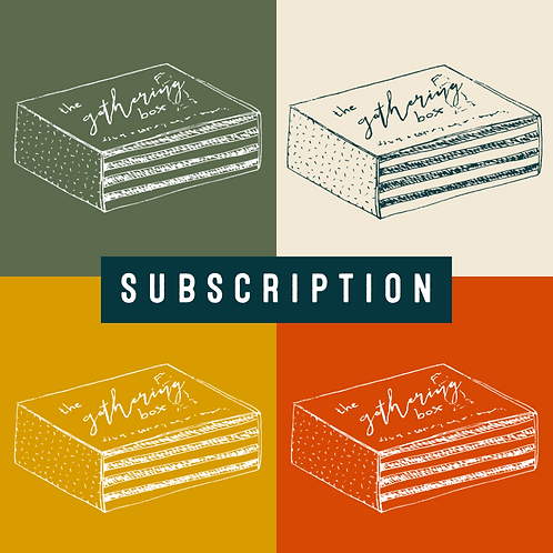 Subscription - The Gathering Box