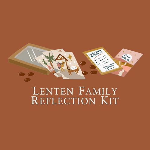 Lenten Family Reflection Kit - Bulk
