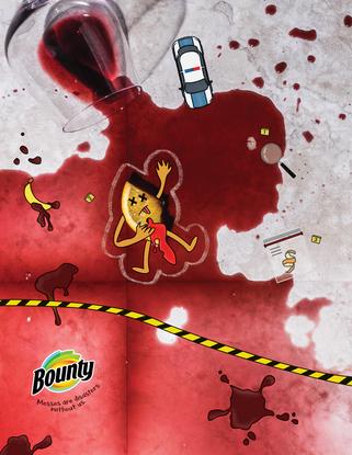 BOUNTY --- Art Director: Jelena Kolomejac {@jelenakolomejac}  Copywriter: Johnny Dillion IV {@johndilloniv}