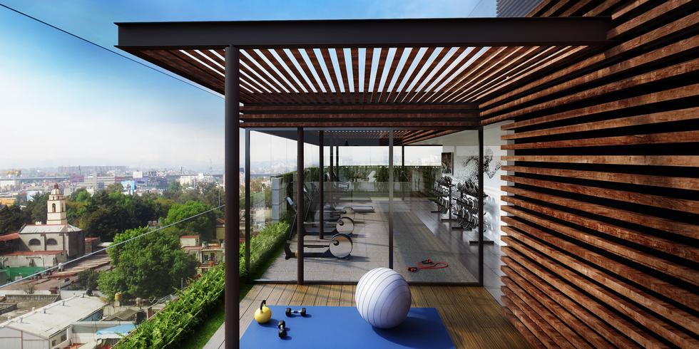 Gimnasio y salon de Yoga