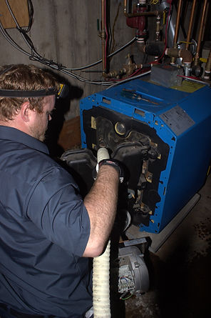 Oil boiler service, furnace cleaning, oil heating repar halifax