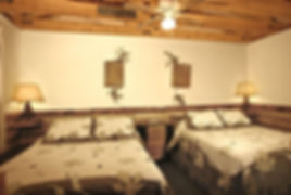 The Log Cabin Mine Room
