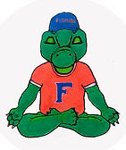 UF Meditating Mascots - White Background