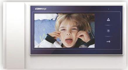 "CDV-70KM MAVİ ÇERÇEVE - COMMAX RENKLİ 7"" FULL-LED LCD HANDSFREE MONİTÖR"