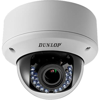 DUNLOP - DP-22E56D1T-VPIR3Z 180P DOME KAMERA