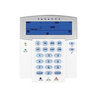 K35 - PARADOX 32 ZON KABLOLU LCD İKON KEYPAD (SP VE MG SERİLERİYLE UYUMLU)